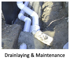 Drainlaying
